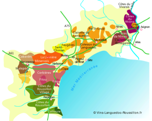 appellations Languedoc-Roussillon